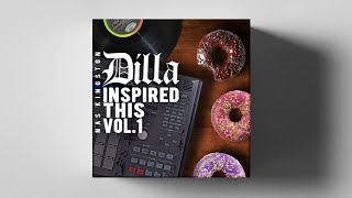 DILLA INSPIRED THIS VOl.01 (FREE DRUM LOOP LIBRARY, DOWNLOAD FREE SAMPLES)