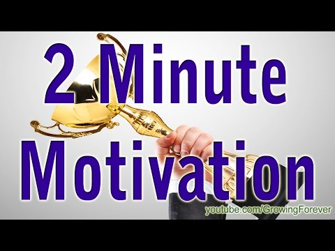 2 Minute Motivator, Attract Wealth Success Abundance Prosperity Money Motivational Video #7