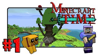 Minecraft: Adventure Time! Adventure Map - Ep.1 - Candy Kingdom Here I Come!