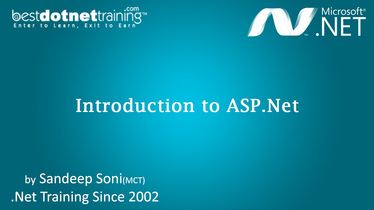 Asp. Net tutorial 1 introduction and creating your first asp. Net.