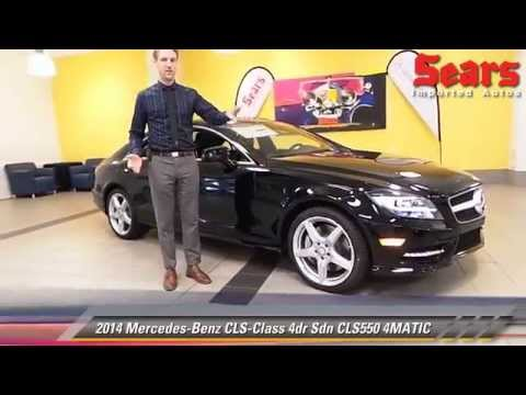 New 2014 mercedes benz cls class cls550 4matic for Mercedes benz bloomington mn