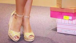 Mira las opciones de sandalias que escogió Virginia