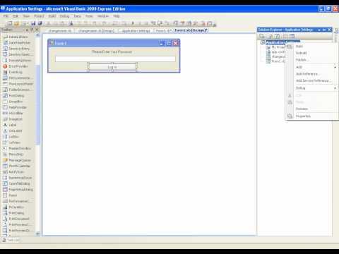 VB.NET Tutorial 33 - Using Settings (Visual Basic 2008/2010)из YouTube · Длительность: 8 мин37 с