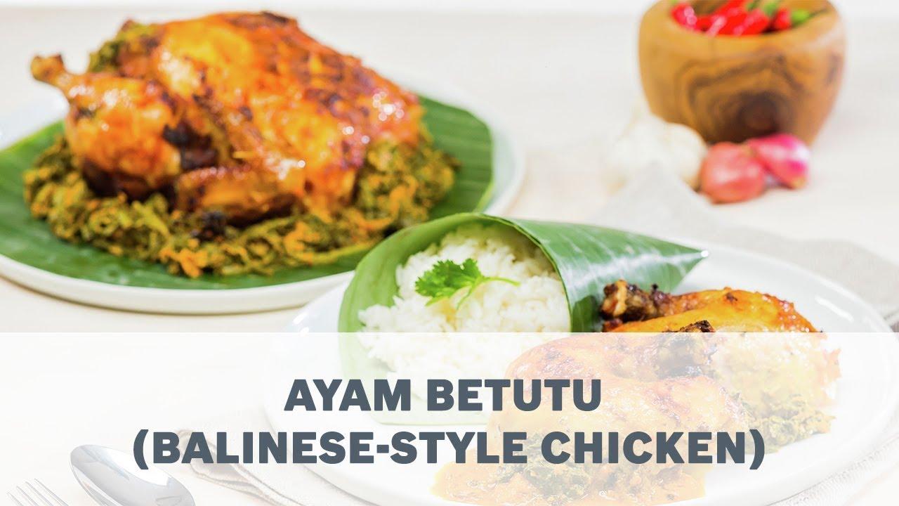 Ayam Betutu Balinese Style Chicken Recipe Cooking With Bosch Youtube