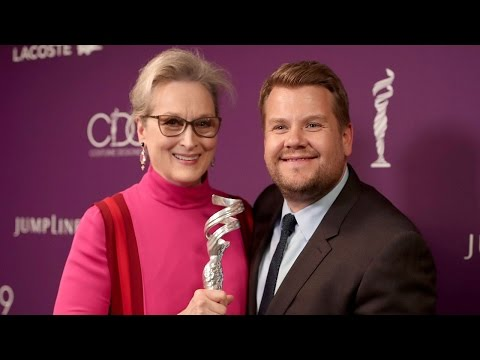 James Corden Jokes About the First Time He Met Meryl Streep