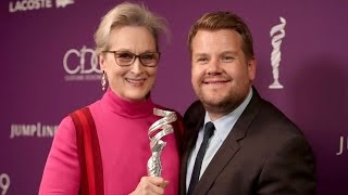 James Corden Jokes About the First Time He Met Meryl Streep: