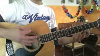 How to REALLY play Help by The Beatles on guitar lesson