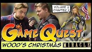 The Game Quest | Volume 2 Chapter 2 - 'Wood's Christmas Miracle' thumbnail