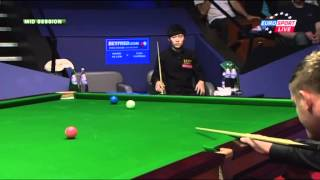 Курьез с Марком Алленом в игре с Цао (World Snooker Championship 2012)