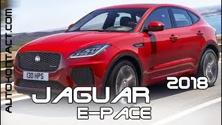 Jaguar E-Pace test-drive.  Новый кроссовер Ягуар Е-Пейс.  Скидки в описании