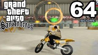 GTA San Andreas | MOTOCROSS SKILL CONTEST!! #64