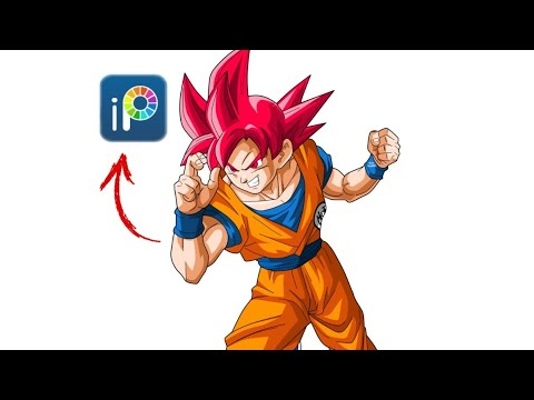 Dessin Goku Super Saiyan Divin Ssj God Youtube
