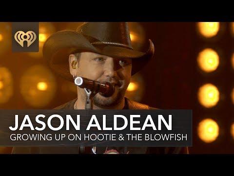 Jason Aldean Talks Growing Up Listening To Hootie & The Blowfish | iHeartRadio Album Release Party