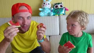 اكلنا كتير !! أشرطة فيديو للأطفال / We ate too much
