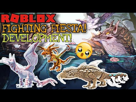 MONSTER HUNTER+ARK ROBLOX GAME! Early-Development! | Fighting Fiesta! |