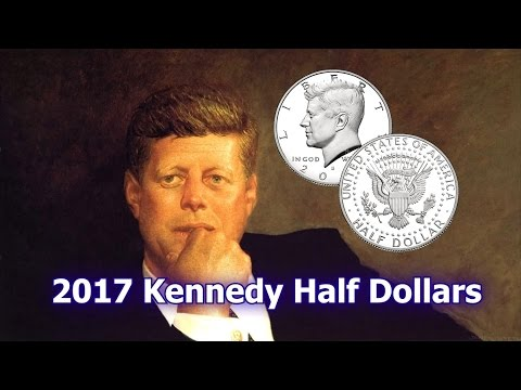 US Mint Releases 2017 Kennedy Half Dollar Coins