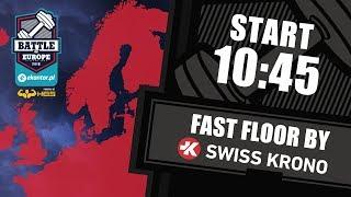 Ekantor.pl Battle of Europe vol.2 / WOD5: fast floor