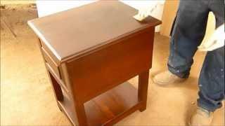 Como Pintar Mueble De Madera O Laqueo Paso A Paso