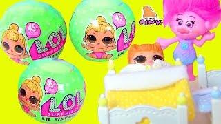Куклы ЛОЛ - ДЕТСКИЙ САД - Trolls - Сюрпризы ЛОЛ | Май Тойс Пинк