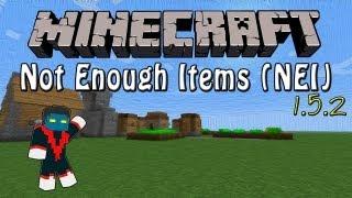 Como Instalar Mods no Minecraft 1.5.2 - Not Enough Items (NEI)