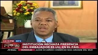 "Dominican Republic: Fringe religious institution rejects ambassador James ""Wally"" Brewster"