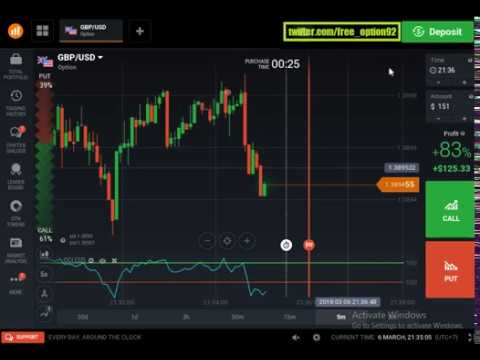 This strategy 95% profitable for real account - Binary option trading