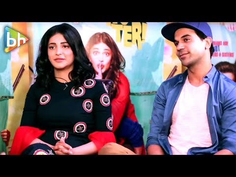 Rajkumar Rao And Shruti Haasan Amazing QUIZ | Behen Hogi Teri