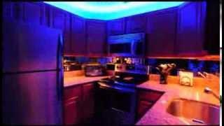 Освещение на кухне. Светодиодные светильники для кухни.(Заказать светодиодные светильники для кухни с монтажом на сайте http://ld-studio.pro Рассчитать интерьерное освеще..., 2013-09-26T19:21:09.000Z)