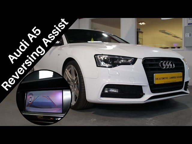 How To Instantly Improve Your Parking Skills | Audi A5 Reversing Camera