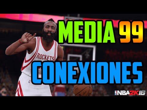 NBA 2K16 - Media Mi jugador 99 | Conexiones Mi Carrera - Truco