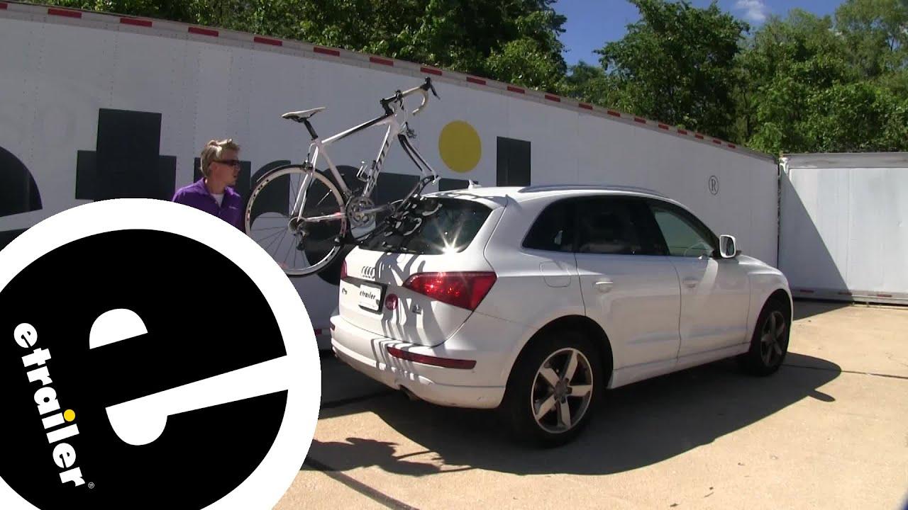 etrailer seasucker komodo trunk bike rack review 2010 audi q5
