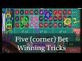 Five  bet winning tricks Online roulette