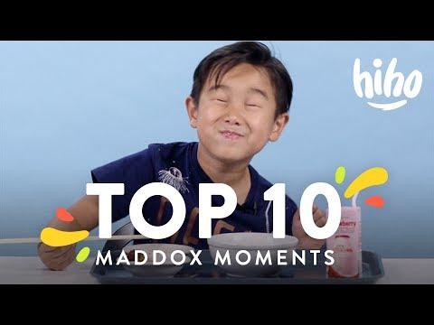 Maddox's Top 10 Moments | Top 10 | HiHo Kids