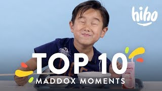 Maddox's Top 10 Moments | Top 10 | HiHo Kids