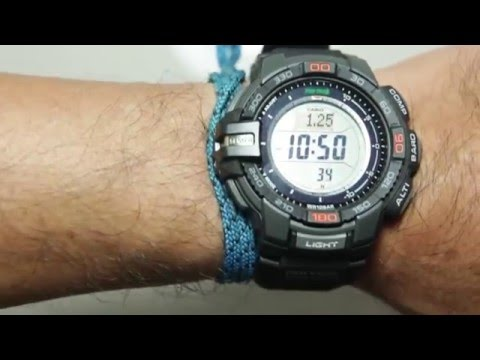 Casio Protrek PRG-270-1DR With Triple Sensor