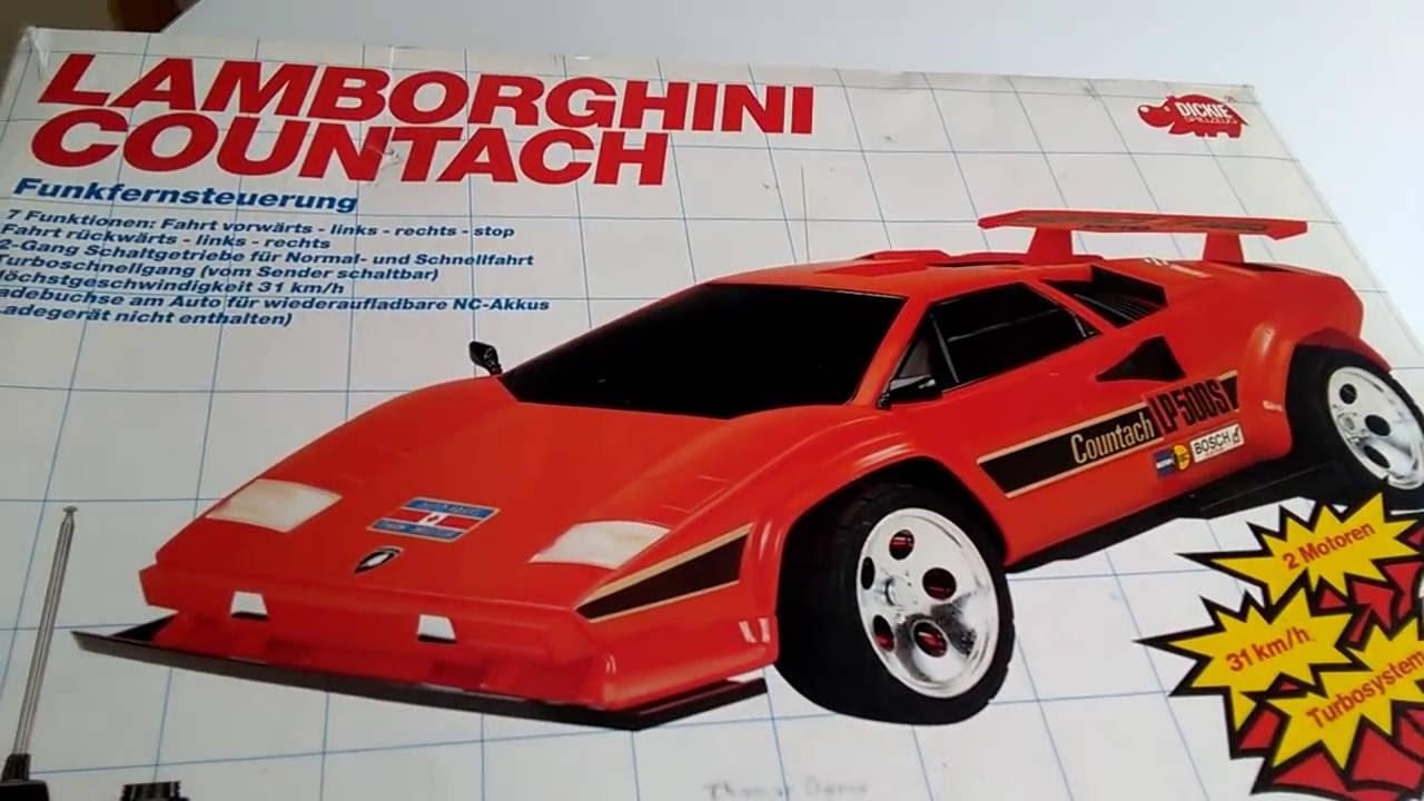 1991 lamborghini countach lp5000 rc taiyo with packaging