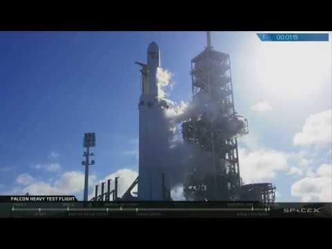 SCORE DEMO - SpaceX Falcon Heavy