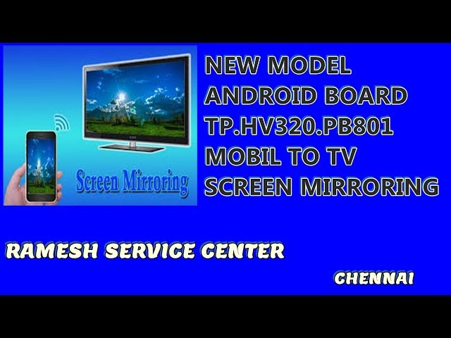 NEW MODEL  ANDROID BOARD TP.HV320.PB801 MOBIL TO TV SCREEN MIRRORING