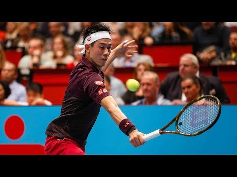 Highlights: London Contenders Nishikori, Anderson Reach Final In Vienna 2018