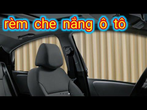 Cách lắp bộ rèm che nắng cửa xe hơi ô tô/how to install car door sunshades