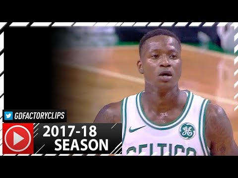 Terry Rozier Full PS Highlights vs Sixers (2017.10.09) - 15 Pts, 10 Reb, 6 Ast