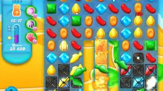 Candy Crush Soda Saga Level 1384 - NO BOOSTERS