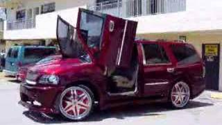 Mj creations Kandy Expedition lambo doors