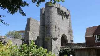 Lewes Castle  Built In 1069 Fortification. The Barbican. William de Warenne 1080HD