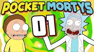 Pocket Mortys - Episode 1   Gotta Rick 'Em All!