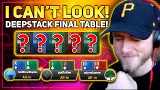 DEEPSTACK FINAL TABLE!! Matt Staples Stream Highlights
