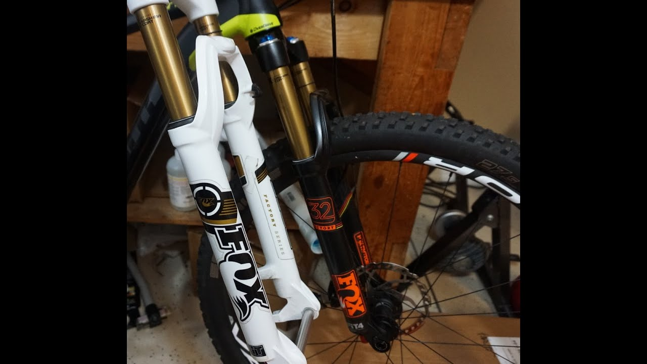 120mm Fork On Giant Anthem Cross Country Bike Youtube