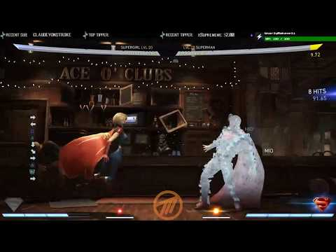 Injustice 2 - Supergirl - Combo Damage Concept with Trait
