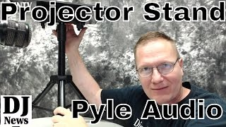 Assembling a #PyleAudio PLPTS2 Universal Device Stand Laptop Projector Disc Jockey News