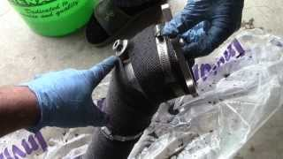 Wrapping a Downpipe - Part 1